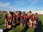 Edison Vikings Girls Varsity Track & Field Spring 17-18 team photo.