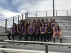 Los Lunas Tigers Girls Varsity Track & Field Spring 17-18 team photo.