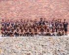 Portales Rams Girls Varsity Track & Field Spring 17-18 team photo.