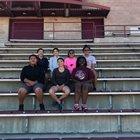 Ramah Mustangs Girls Varsity Track & Field Spring 17-18 team photo.