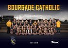 Bourgade Catholic Golden Eagles Girls Varsity Track & Field Spring 17-18 team photo.