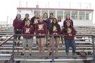 Gadsden Panthers Girls Varsity Track & Field Spring 17-18 team photo.