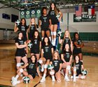 Rudder Rangers Girls Varsity Volleyball Fall 19-20 team photo.
