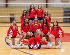 Providence Christian Academy Storm Girls Varsity Volleyball Fall 19-20 team photo.