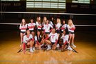 Hillgrove Hawks Girls Varsity Volleyball Fall 19-20 team photo.
