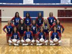 Gregory-Portland Wildcats Girls Varsity Volleyball Fall 19-20 team photo.