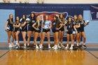 Foard Tigers Girls Varsity Volleyball Fall 19-20 team photo.