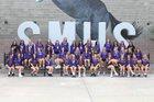 Sunrise Mountain Mustangs Girls Varsity Volleyball Fall 19-20 team photo.