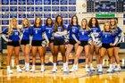 Springfield Blue Devils Girls Varsity Volleyball Fall 19-20 team photo.