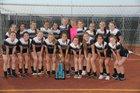 Woodcreek Timberwolves Girls Varsity Soccer Spring 15-16 team photo.