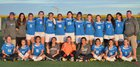 Sierra Timberwolves Girls Varsity Soccer Spring 15-16 team photo.