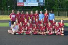 Arkansas Razorbacks Girls Varsity Soccer Spring 15-16 team photo.