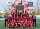 Springdale Bulldogs Girls Varsity Soccer Spring 15-16 team photo.