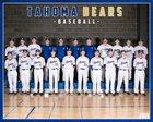 Tahoma Bears Boys Freshman Baseball Spring 18-19 team photo.