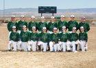 Atrisco Heritage Academy Jaguars Boys Freshman Baseball Spring 18-19 team photo.
