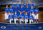 Christian Brothers Falcons Boys Freshman Baseball Spring 18-19 team photo.