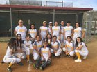 Monte Vista Monarchs Girls JV Softball Spring 17-18 team photo.