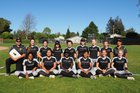 Mountain View Spartans Girls JV Softball Spring 17-18 team photo.