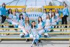 Center Cougars Girls JV Softball Spring 17-18 team photo.