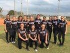 Mariner Tritons Girls JV Softball Spring 17-18 team photo.