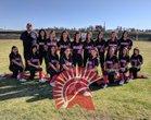 Rio Mesa Spartans Girls JV Softball Spring 17-18 team photo.