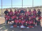 Cobre Indians Girls JV Softball Spring 17-18 team photo.