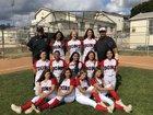 Verdugo Hills Dons Girls JV Softball Spring 17-18 team photo.