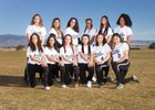 Volcano Vista Hawks Girls JV Softball Spring 17-18 team photo.