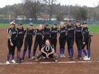 Bret Harte Bullfrogs Girls JV Softball Spring 17-18 team photo.