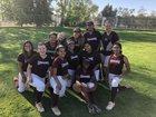 Rancho Buena Vista Longhorns Girls JV Softball Spring 17-18 team photo.