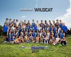 Lovington Wildcats Boys Varsity Cross Country Fall 17-18 team photo.