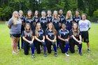 Lakeside Vikings Girls Varsity Softball Fall 16-17 team photo.
