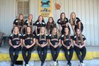 Caledonia Fighting Scots Girls Varsity Softball Spring 15-16 team photo.