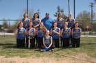Bergman Panthers Girls Varsity Softball Spring 15-16 team photo.