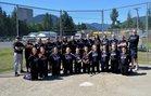 Quilcene Rangers Girls Varsity Softball Spring 15-16 team photo.