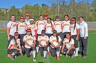 Carondelet Cougars Girls Varsity Softball Spring 15-16 team photo.