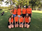 North Davidson Knights Girls Varsity Golf Fall 18-19 team photo.