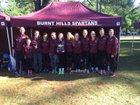 Burnt Hills-Ballston Lake Spartans Girls Varsity Cross Country Fall 16-17 team photo.