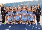 East Thunderbirds Boys Varsity Tennis Fall 18-19 team photo.