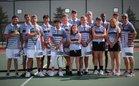 South Bison Boys Varsity Tennis Fall 18-19 team photo.