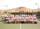 Green River Wolves Boys Varsity Tennis Fall 18-19 team photo.