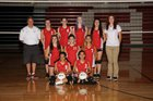 Albuquerque Academy Chargers Girls Freshman Volleyball Fall 16-17 team photo.
