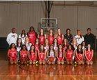 John Paul II Cardinals Girls JV Basketball Winter 18-19 team photo.