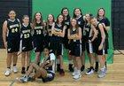 Socastee Braves Girls JV Basketball Winter 18-19 team photo.