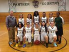 Nease Panthers Girls JV Basketball Winter 18-19 team photo.