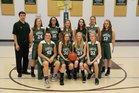 Westwood Baptist Academy Eagles Girls JV Basketball Winter 18-19 team photo.