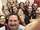 Rio Grande Ravens Girls JV Basketball Winter 18-19 team photo.