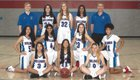 Folsom Bulldogs Girls JV Basketball Winter 18-19 team photo.