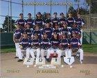Richmond Oilers Boys JV Baseball Spring 17-18 team photo.