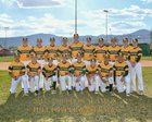 Los Alamos Hilltoppers Boys JV Baseball Spring 17-18 team photo.
